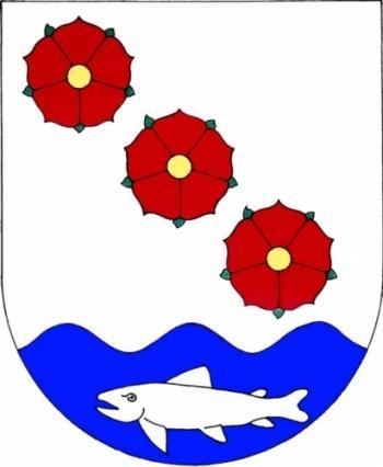 Obec Vrané nad Vltavou znak